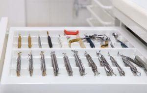 organizing dental supplies