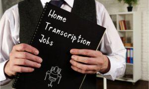 Best transcription jobs include work at home setups.